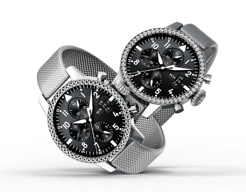 Download Watch stock illustration. Illustration of business, clockworks - 34036549