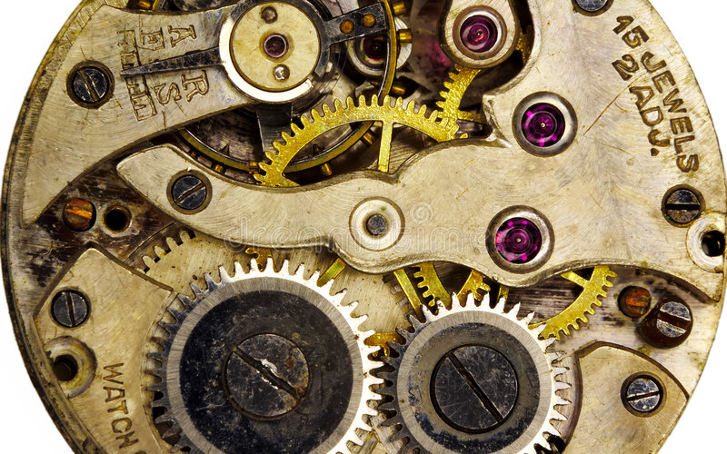 Download Watch Movement Stock Photo - Image: 213310