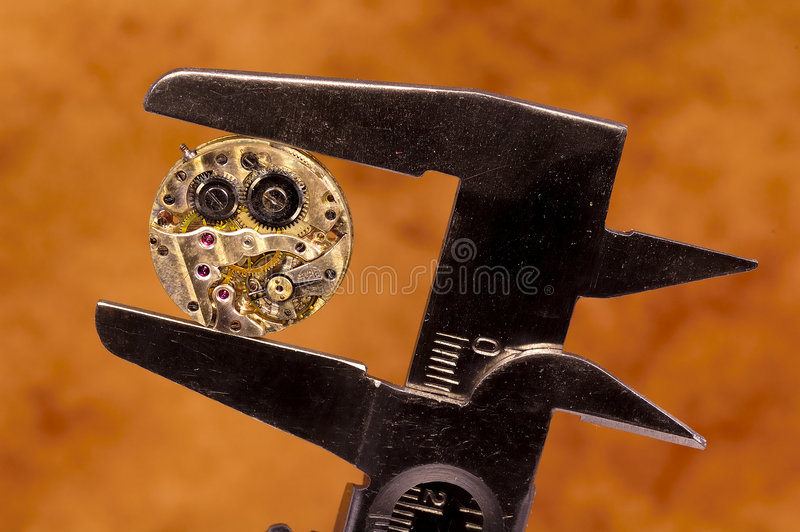 Download Watch Movement stock photo. Image of technical, jewelery - 235644