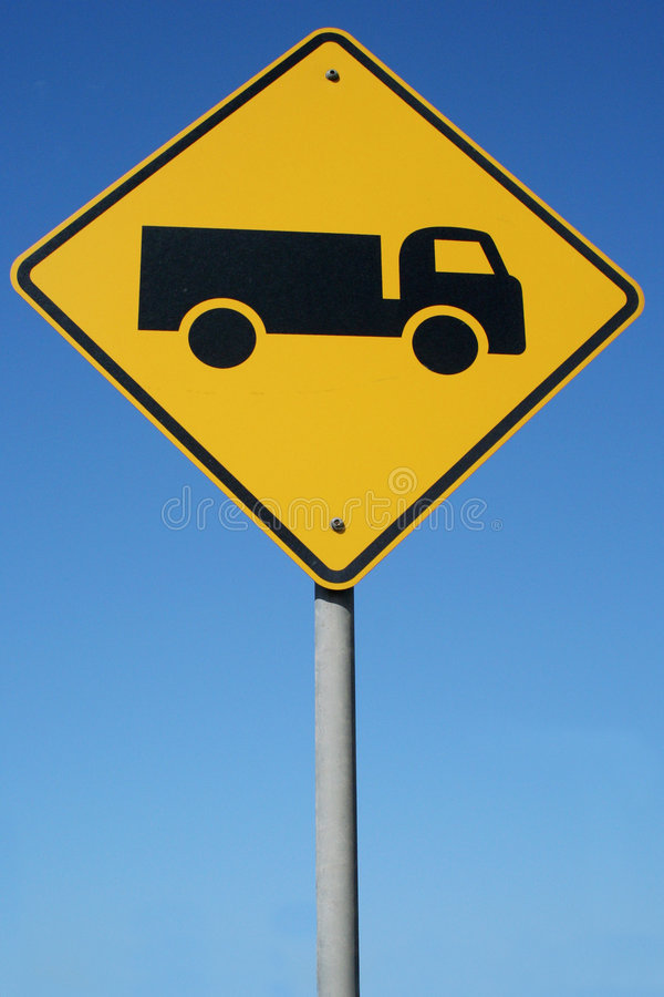 Free Watch Out For Trucks Stock Photo - 506170