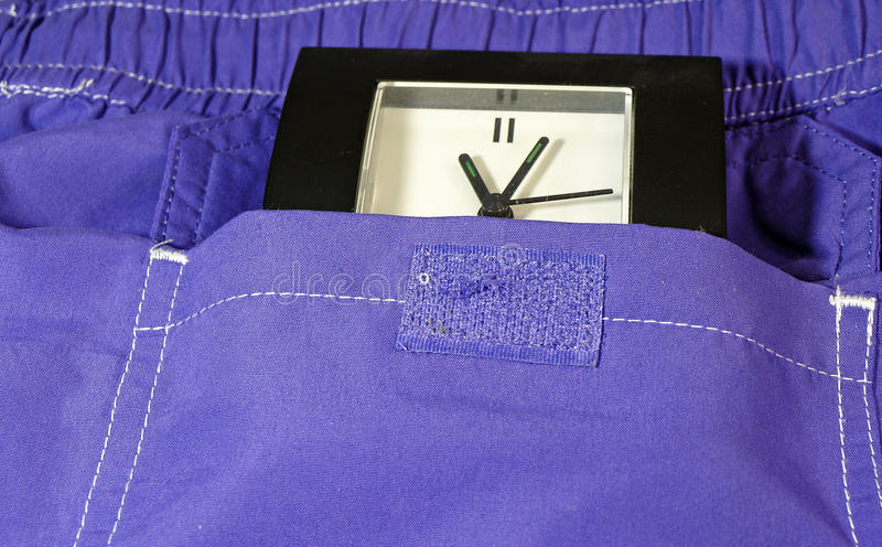 Watch In Pocket Stock Photography