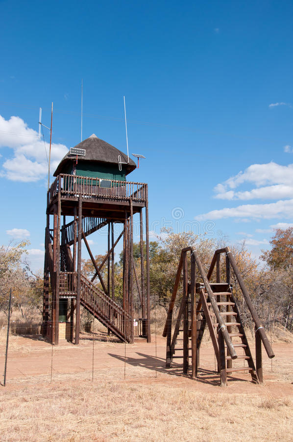 Watch Tower. Royalty Free Stock Photo