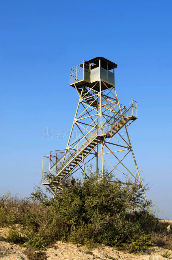 Download Watch tower stock image. Image of guard, watch, observation - 27003601