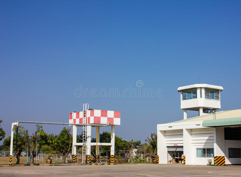 Watch tower Fire Command. The Watch tower Fire Command royalty free stock images