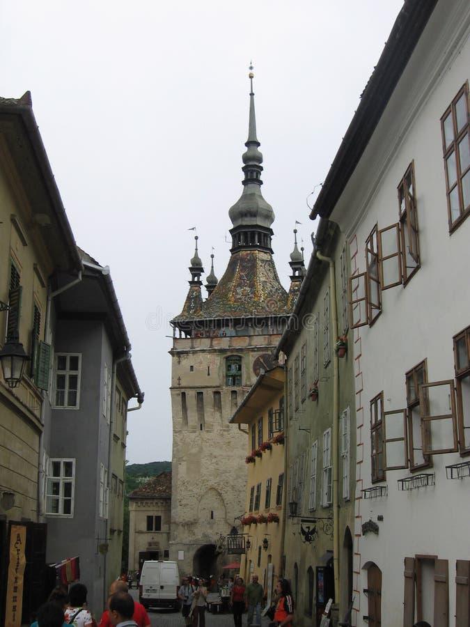 Watch Tower - Sighisoara, Romania royalty free stock image