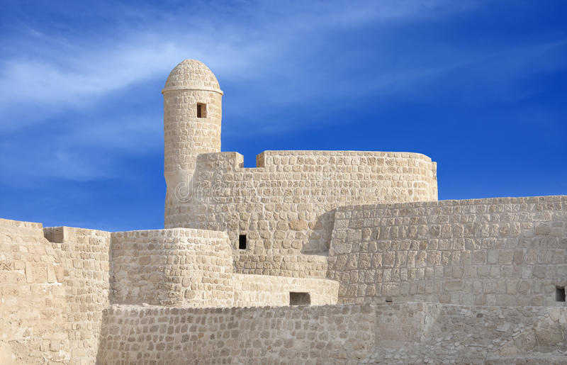 Download Watch Tower At The South Corner Of Bahrain Fort Stock Photos - Image: 17102133