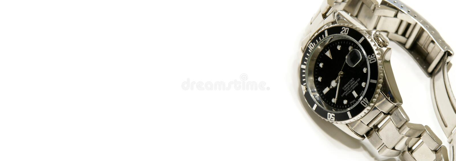 Download Watch Web Banner stock photo. Image of business, inside - 8426842