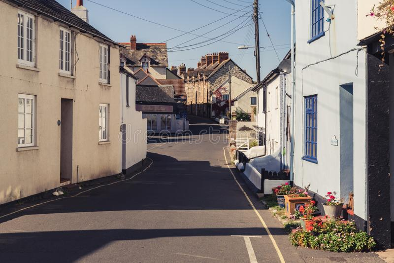 Watchet, Somerset, Inglaterra, Reino Unido foto de archivo