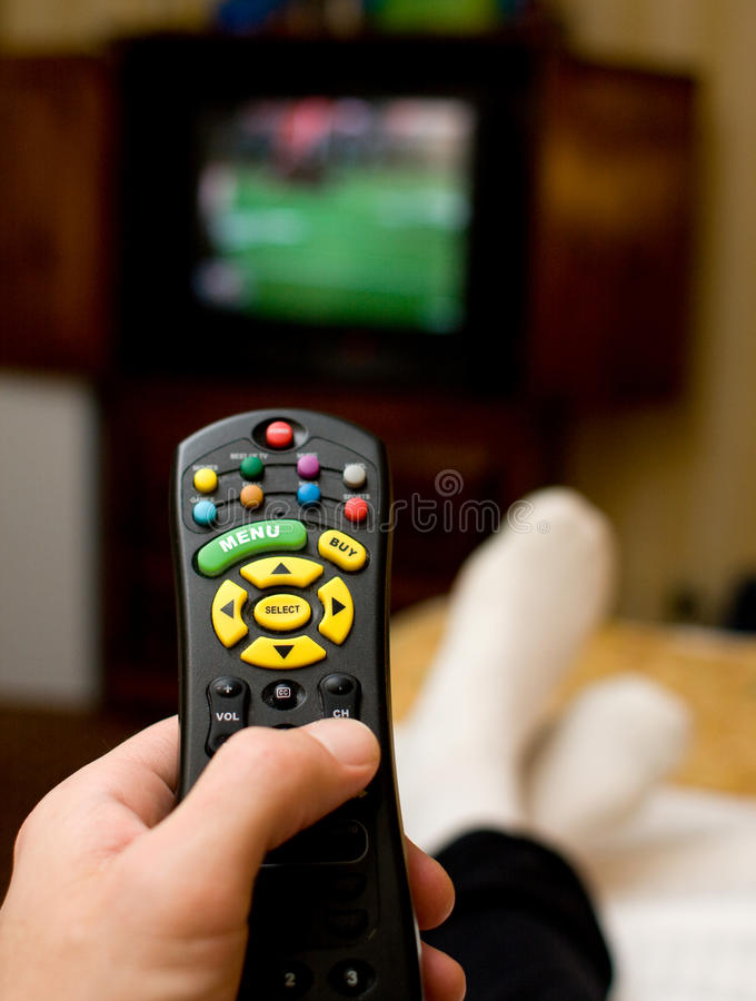 Download Watching the game stock image. Image of hotel, television - 16226299