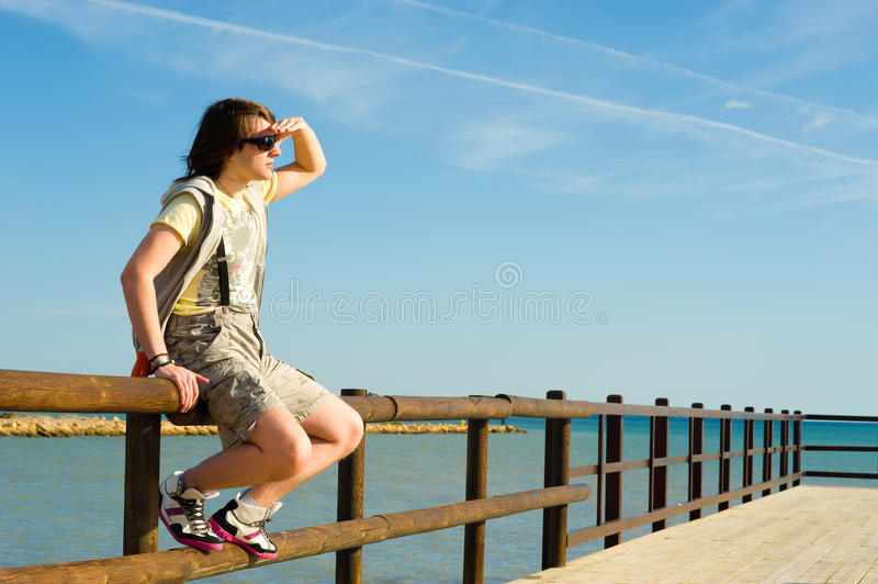 Download Watching Out For The Future Stock Photo - Image: 21980052