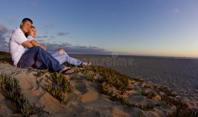 Download Watching the sunset stock image. Image of dating, male - 25910705