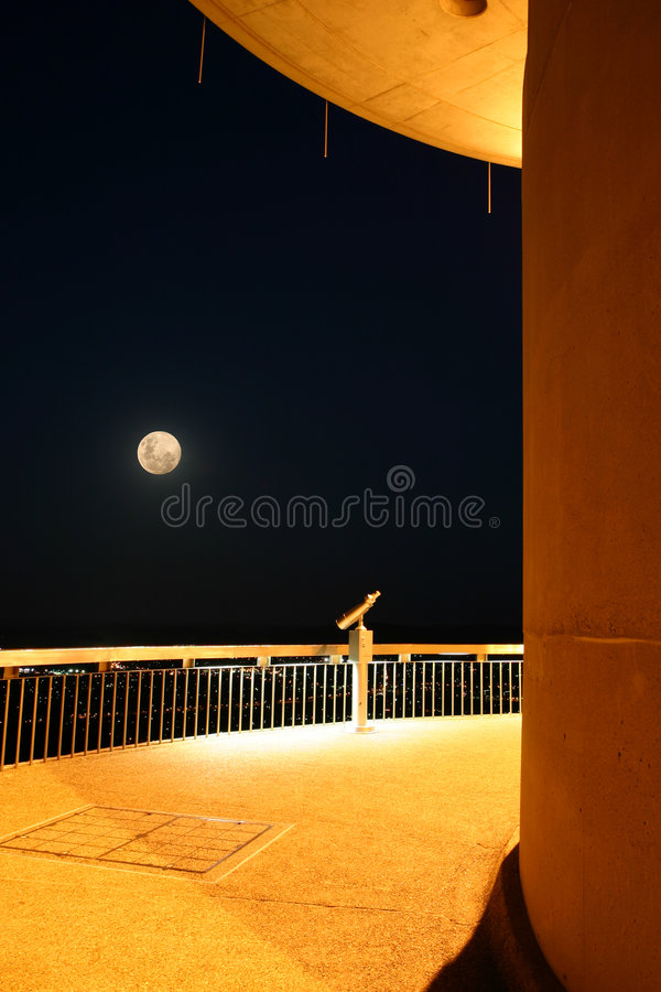 Free Watching The Moon Stock Photo - 1746340