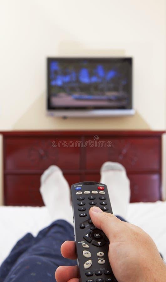 Free Watching Tv Stock Image - 12208611