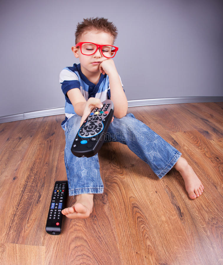 Download Watching TV stock image. Image of eyes, beautiful, closed - 29046717
