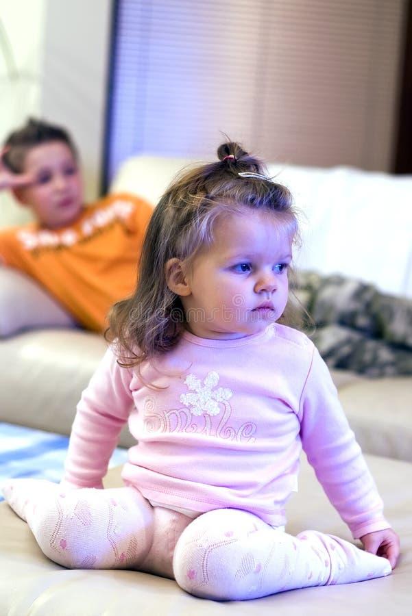 Free Watching TV Stock Image - 3811581