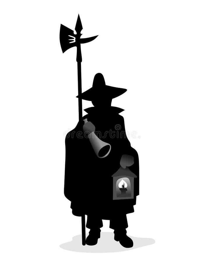 Watchman vector illustration