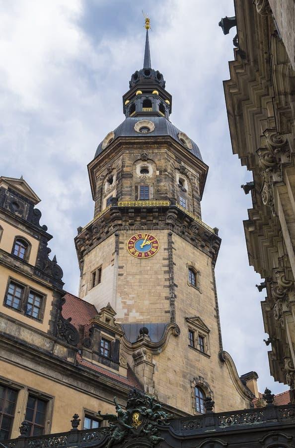 Watchtower av den kungliga slotten royaltyfria bilder