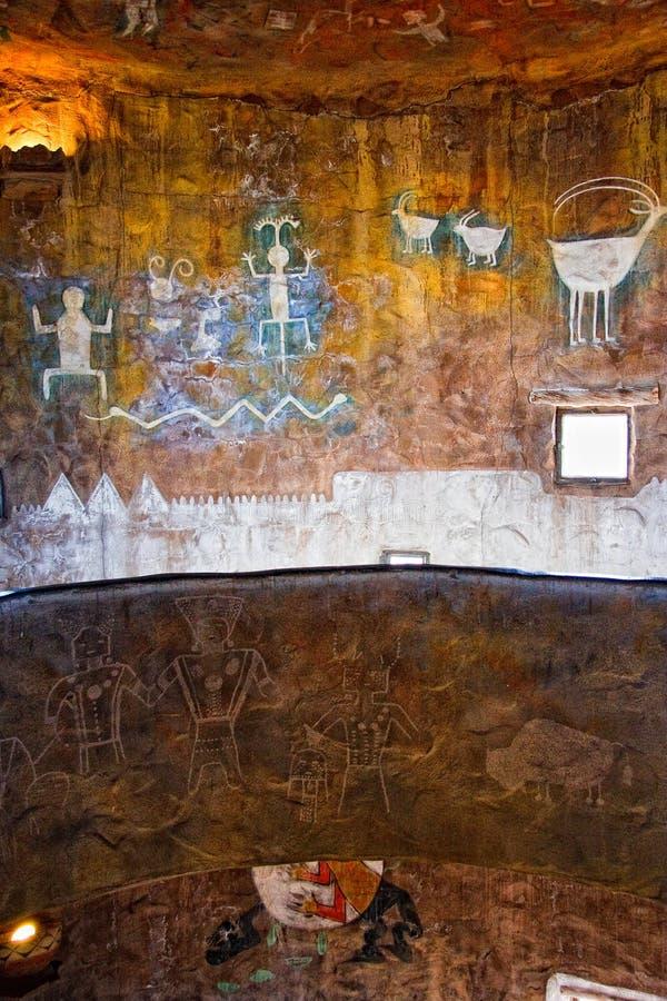 Watchtower bij de Grote Canion royalty-vrije stock afbeeldingen