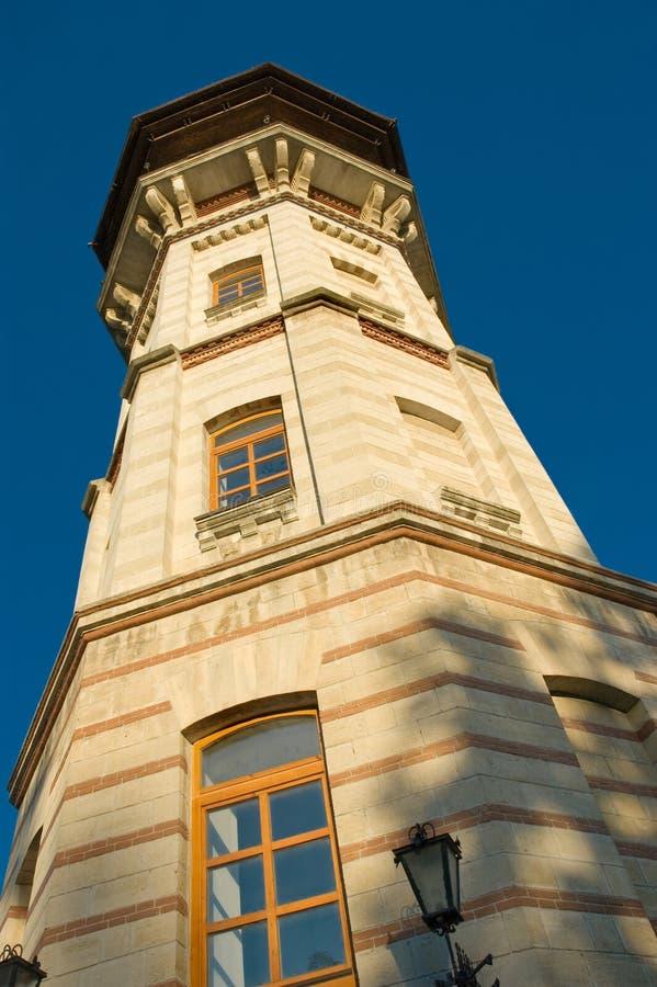 Watchtower in chisinau, moldova stock images