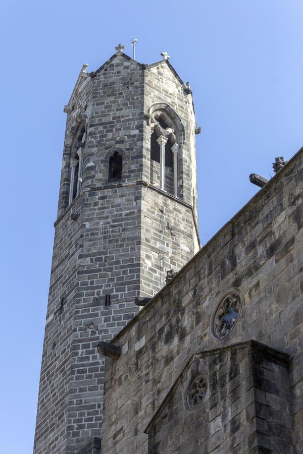 Watchtower du Roi Martin à Barcelone photo stock
