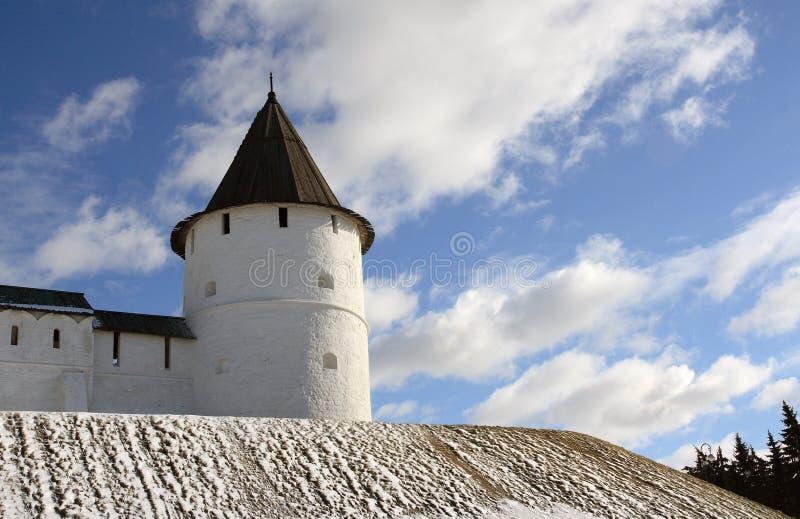 Watchtower van Kazan het Kremlin. stock afbeeldingen