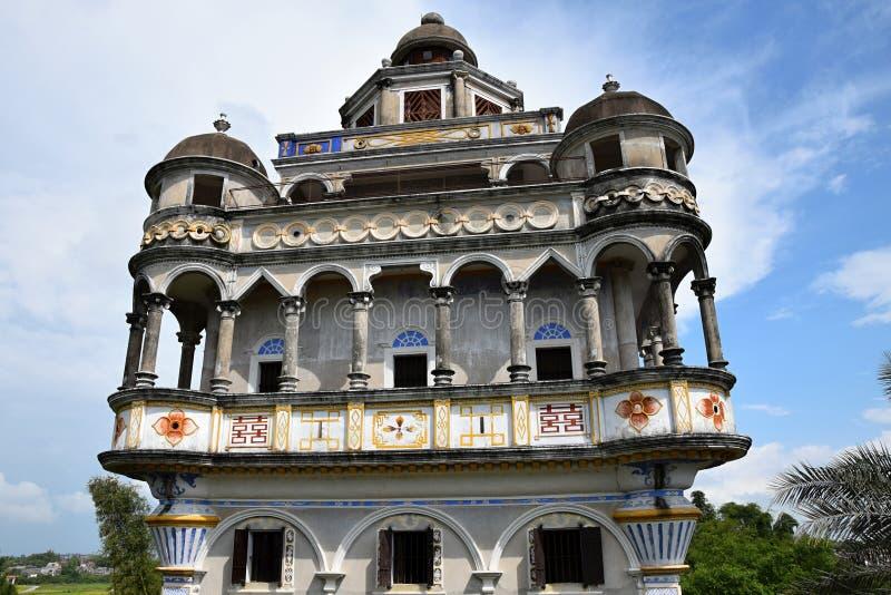 Watchtowers van Kaiping Diaolou in de provincie van Guangdong in China royalty-vrije stock afbeeldingen