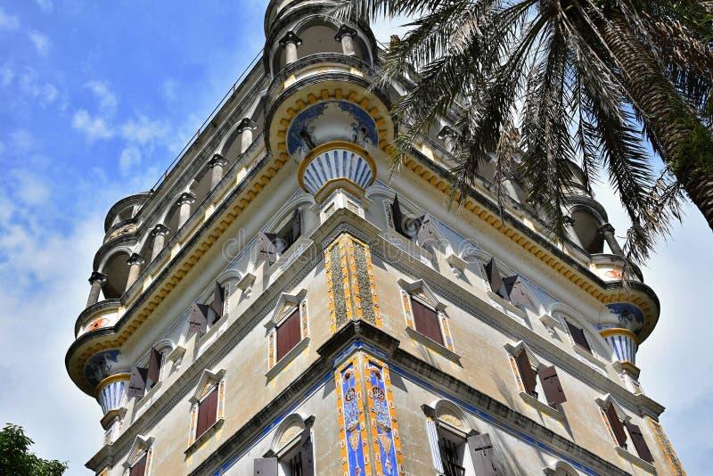 Watchtowers van Kaiping Diaolou in de provincie van Guangdong in China stock fotografie