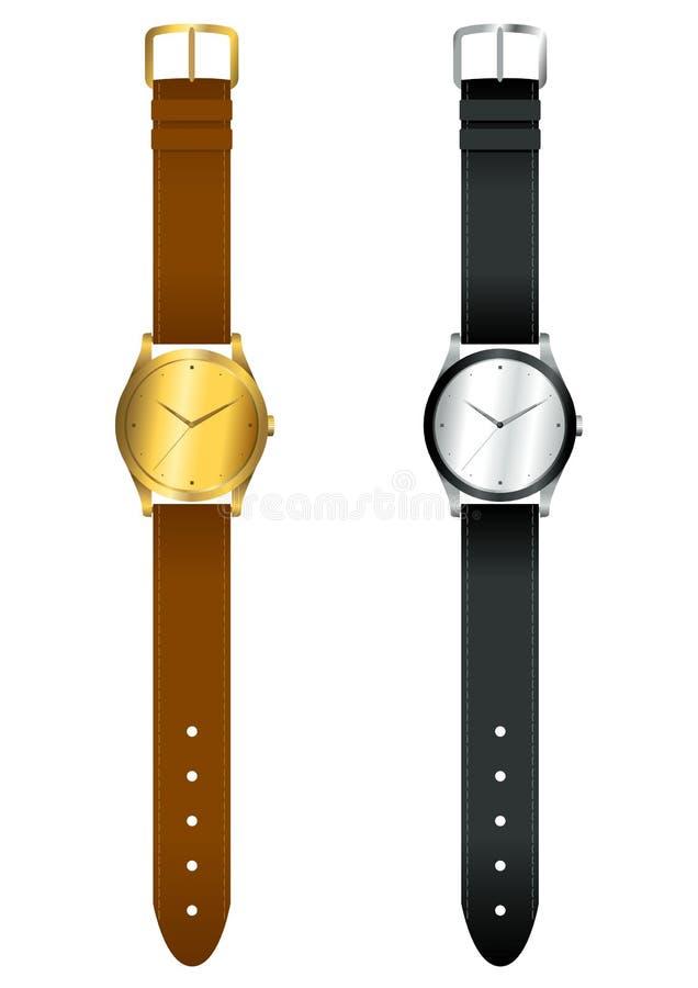 watchwrist vektor illustrationer