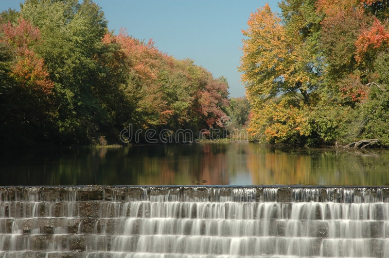 Watefall in New england royalty free stock photo