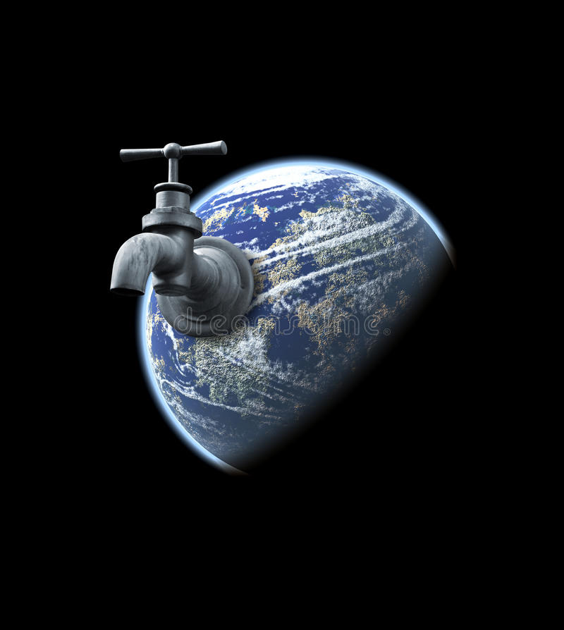 Download Water stock illustration. Image of isolated, world, concept - 22239383