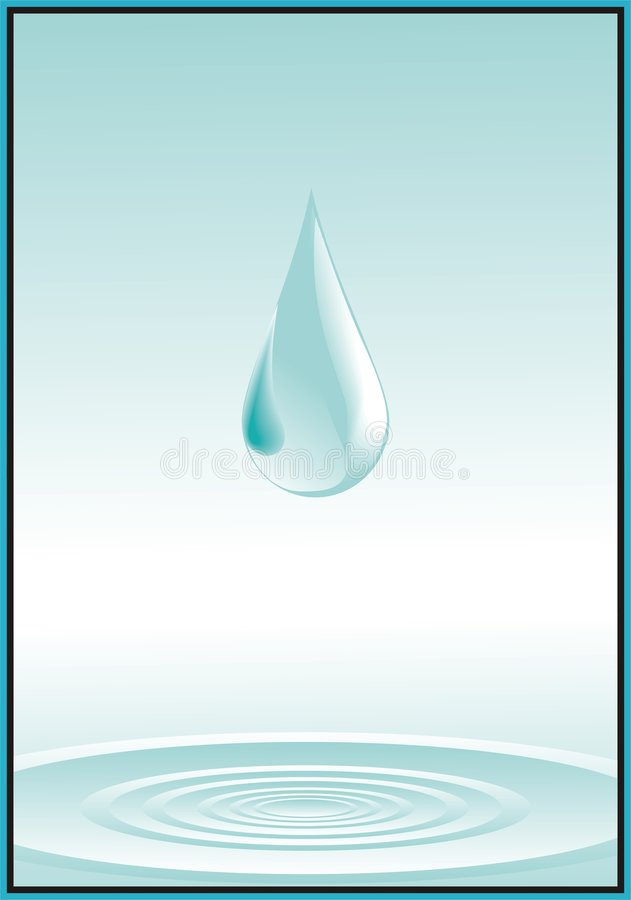 Water vector illustration