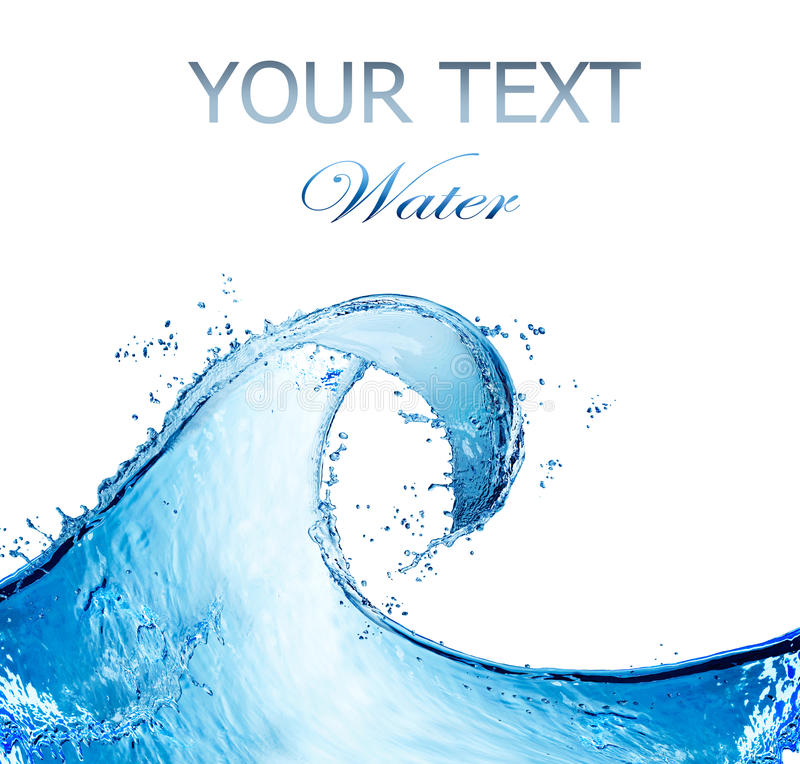 Free Water Abstract Splash Royalty Free Stock Images - 22618379