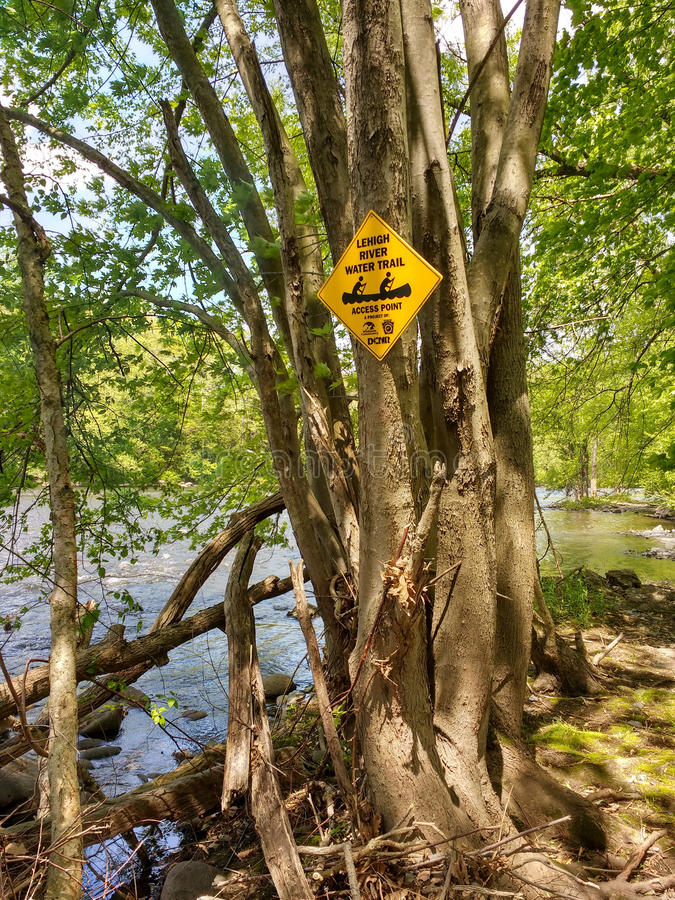 Free Water Access Point For Boaters, Laurys Station, Pennsylvania, USA Royalty Free Stock Photos - 72411468