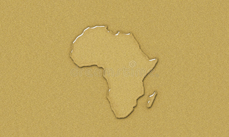 Water africa royalty free stock images