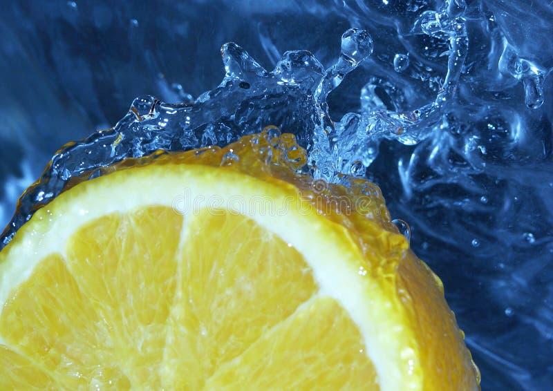 Water & Fruit stock fotografie