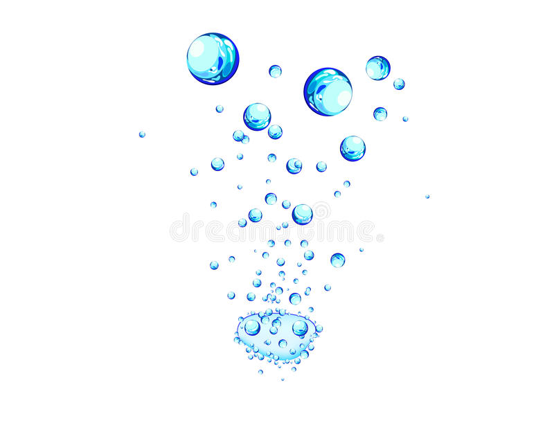 Water background stock illustration