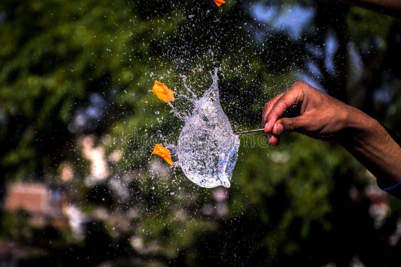 Water Balloon Splash royalty free stock image
