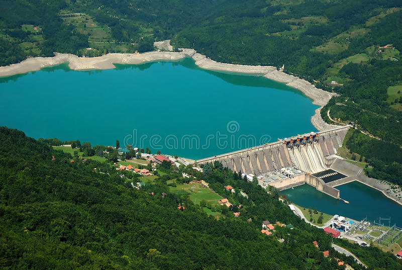 Download Water barriere dam stock image. Image of herzegovina - 15770987