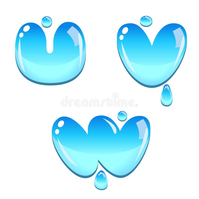 Download Water bead font type stock vector. Image of round, bubble - 17048536