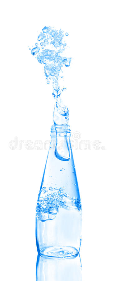 Download Water Being Poured From A Bottle Stock Image - Image: 15859223
