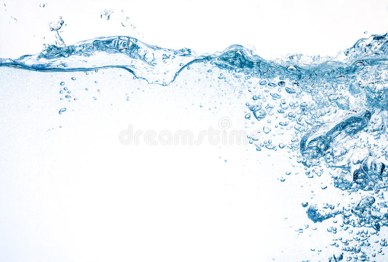 Download Water With Big Splash And Bubbles Stock Photo - Image: 39422052