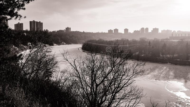Water, Black And White, River, Waterway royalty free stock photo
