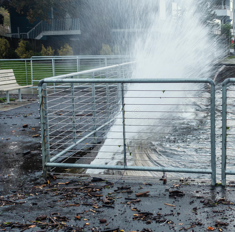 Water Blast stock image