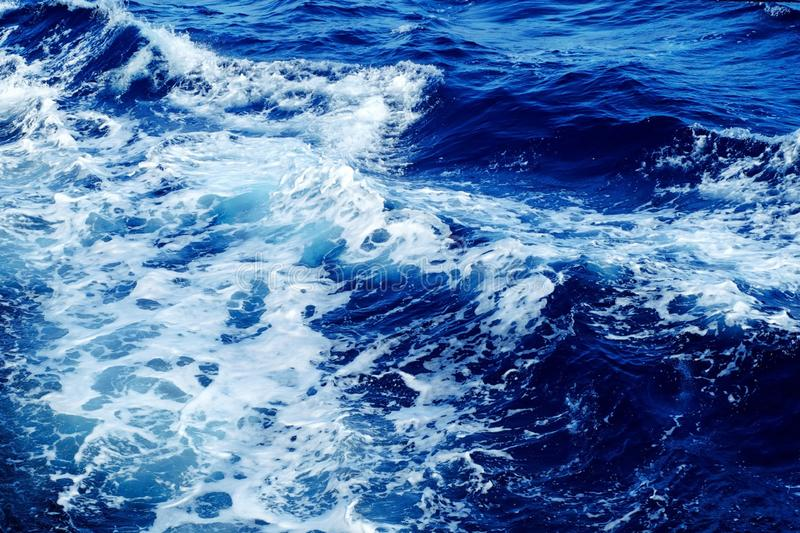Water, Blue, Wave, Sea royalty free stock photo