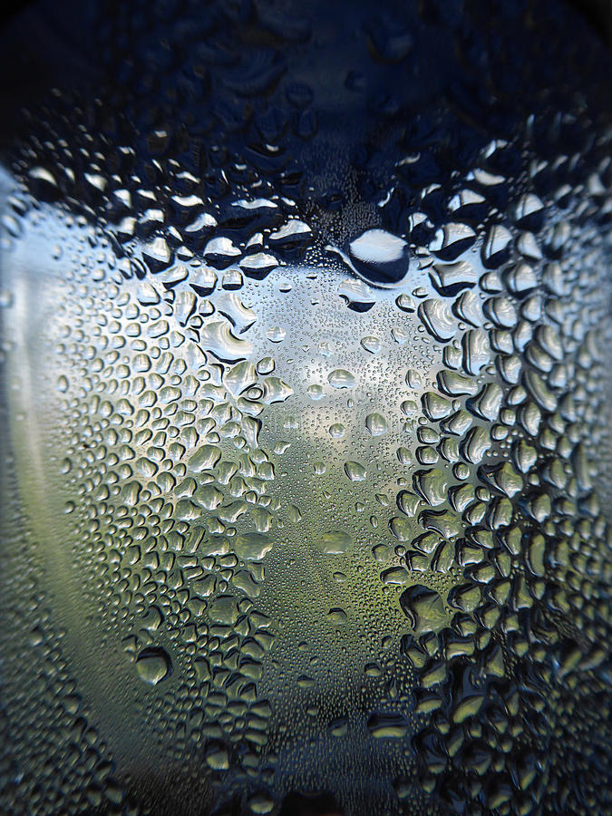 Water in bottle with bubbles royalty free stock photos