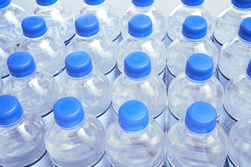 Water bottles royalty free stock photo