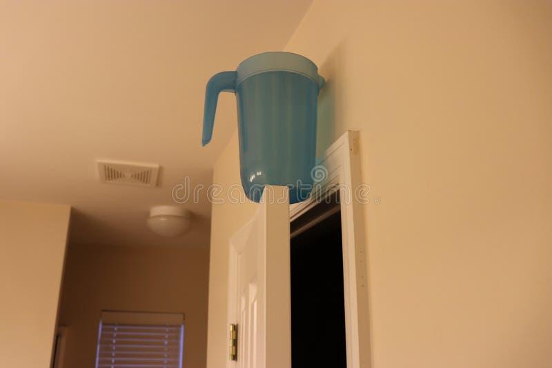 Water bovenop deurstreek royalty-vrije stock afbeelding