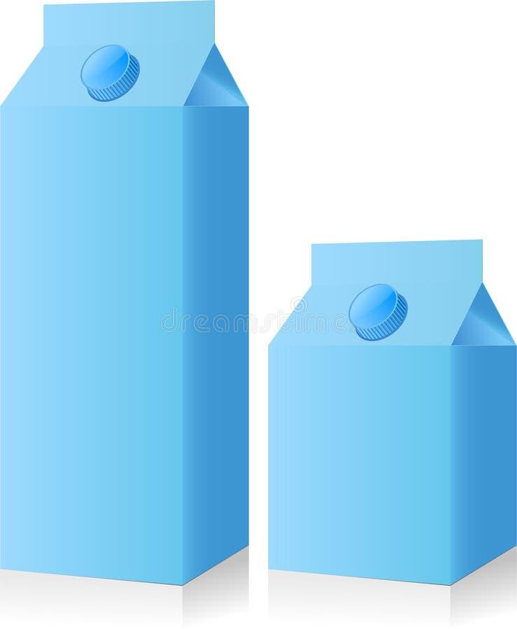 Download Water box stock vector. Illustration of milk, cardboard - 13503262