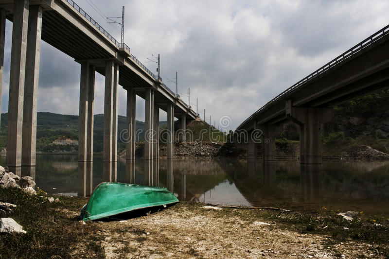 Download Bridge stock image. Image of span, tornto, over, pass - 16471347