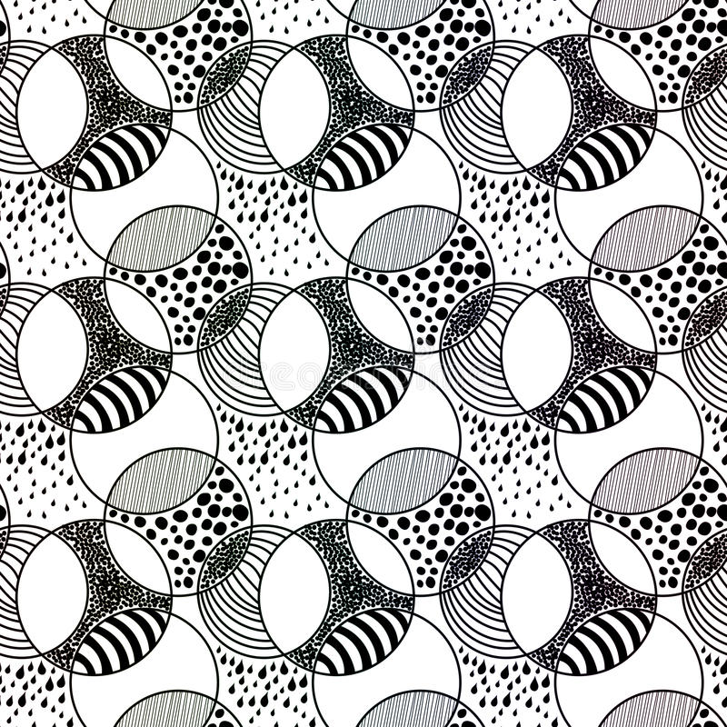 Download Water Bubbles And Stripes Beach Seamless Pattern Stock Illustration - Image: 90528214
